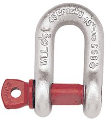 Crosby G210 Screw Pin Bow Shackle