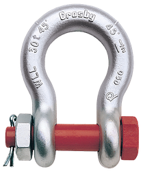 Crosby G2140 Screw Pin Bow Shackle
