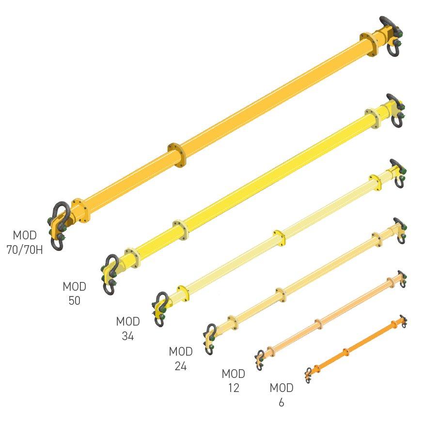 Modulift Spreader Beams Tusk Lifting
